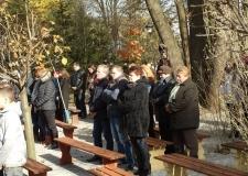 Msza Huberowska i poświęcenie kapliczki Św. Huberta 30-10-2016 (18)