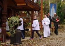 Msza Huberowska i poświęcenie kapliczki Św. Huberta 30-10-2016 (2)