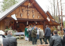 Msza Huberowska i poświęcenie kapliczki Św. Huberta 30-10-2016 (31)