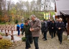 Msza Huberowska i poświęcenie kapliczki Św. Huberta 30-10-2016 (44)