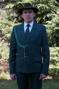 Kol. Borowiec Grzegorz - Członek PZŁ od 2010r.